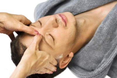 Druckstimulation bei Körpertherapie