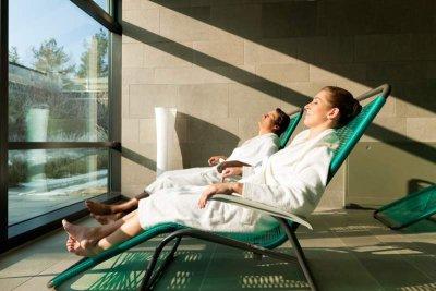 Entspannung während einer Kur