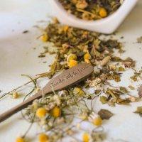 Heublumen: Wiesenblumen und Pflanzenteilen von Gräsern