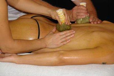 Moorstempel-Massage