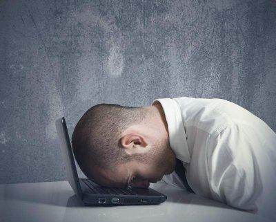 Müdigkeit durch Probleme beim Schlafen