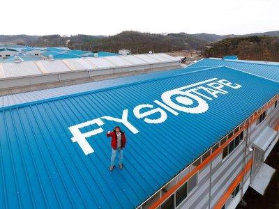 Physiotape BV Gebäude in Südkorea